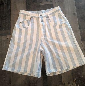 Vintage Zena High Rise Mom Jean Shorts